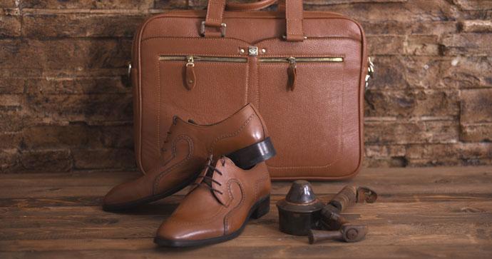 کیف و کفش چرم مردانه