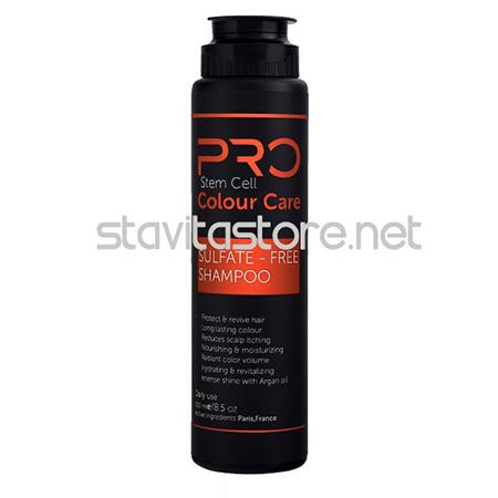شامپو استم سل پرو مخصوص موهای هایلایت و رنگ شده مدل Colour Care حجم 250 میلی لیتر