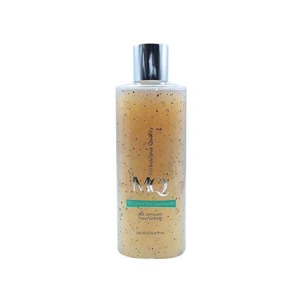 ژل پاک کننده آرایش ام کیو مدل Oil Control skin حجم 200 میلی لیتر