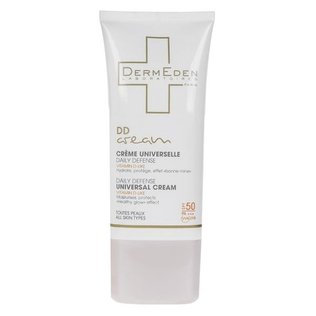 کرم محافظتی روزانه درمدن سری DD Cream Spf50 حجم 50 میلی لیتر