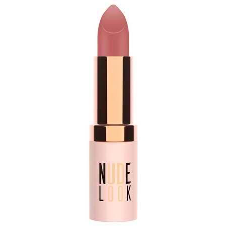 رژ لب جامد مات گلدن رز مدل Nude Look - شماره 03 (Pinky Nude)