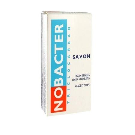 تصویر صابون ضدجوش و آنتی باکتریال نوباکتر اوسرین NOBACTER  حجم 100 گرمی NOBACTER anti-boiling and antibacterial soap, volume 100 g
